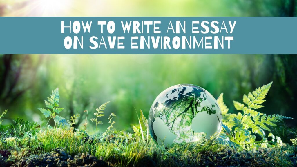 Environment essay writing